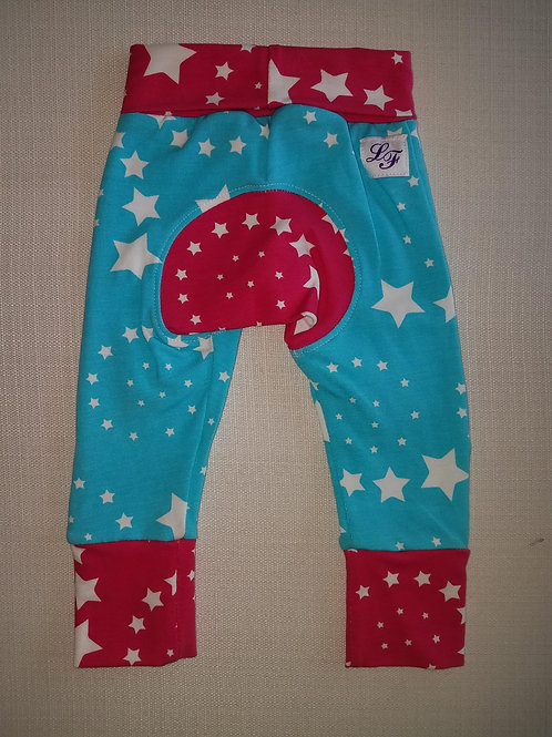 Stars Grow With Me Pants - NB to 6 Mo