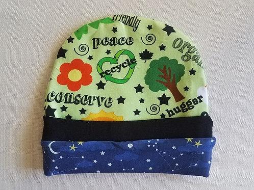 Go Green Reversible Infant Hat