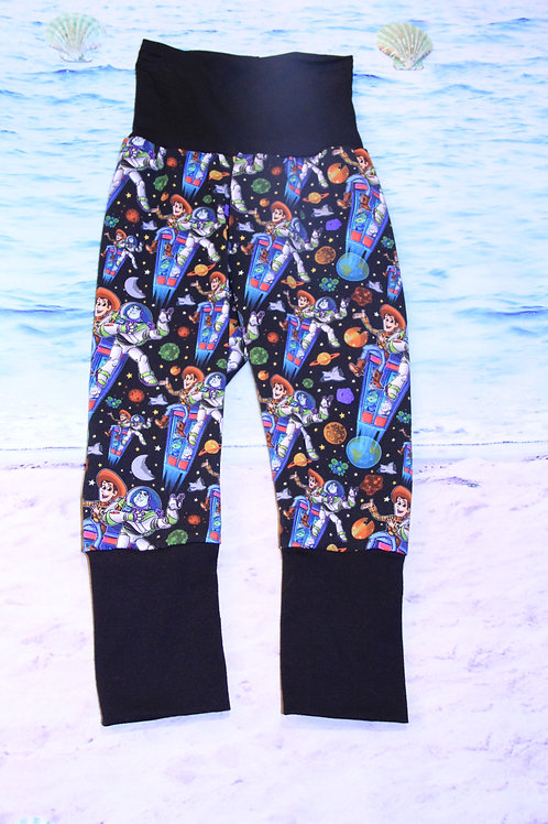 Woody and Buzzes Excellent Adventure Grow with Me Pants - 12 Mo to 4T