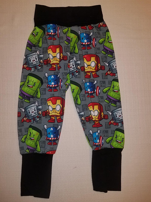 Elemental Avengers Grow with Me Pants - 12 Mo to 4T