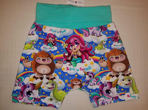Believe in Yourself Shorts - 2T to 6T