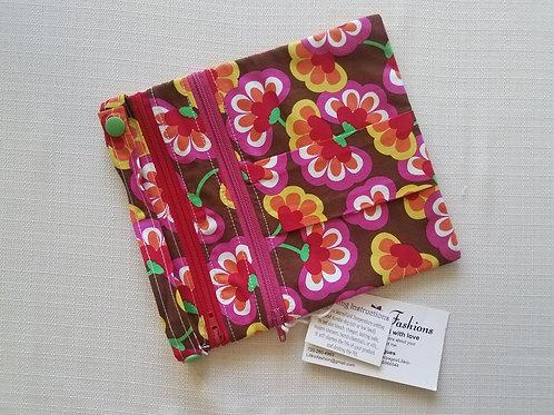 Flowers 7x7 Wet/Dry Bag