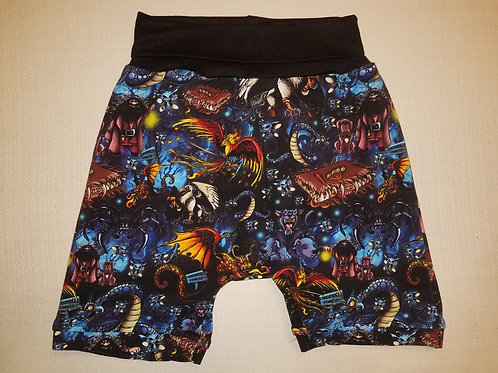Mythical Beasts Shorts - 2T to 6T