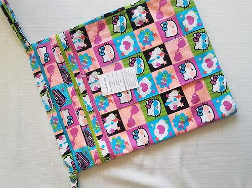 Hello Kitty 14x16 Wet/Dry Bag