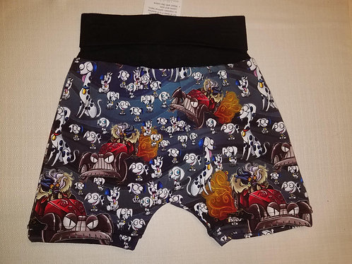 101 Dalmations Shorts - 12 Mo to 4T