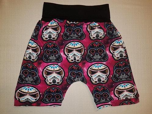 Sugar Skull Empire Shorts - 2T to 6T