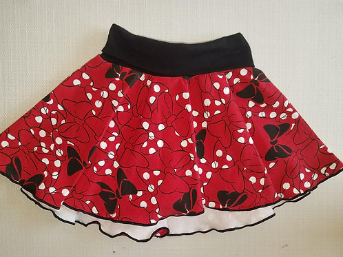 Minnie Mouse Bows Skirt 3/6 Mo to 18 Mo