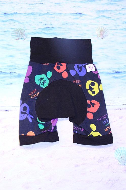 Eat Local Circle Bum Shorts - 12 Mo to 4T