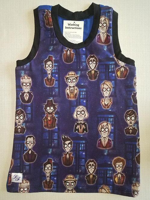 Dr. Who 6T Tank Top