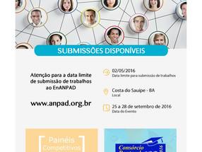 EnAnpad 2016 - Submissões Disponíveis