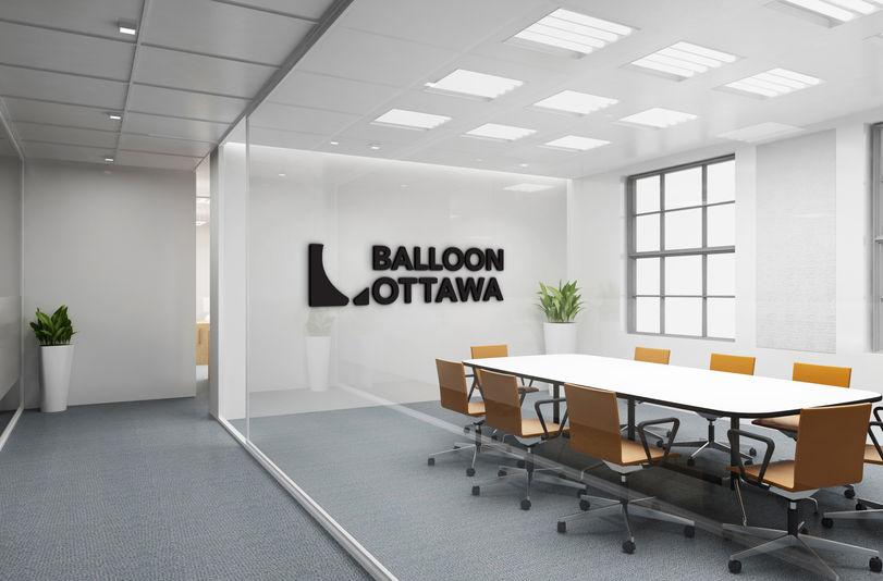 Balloon Ottawa Logo Mockup