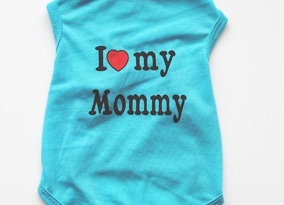 Love Mommy/Daddy Tshirt