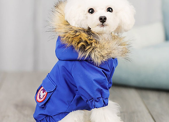 Adorable Down Jacket for Puppies and Dogs