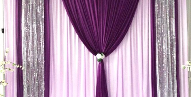 Lavender|Purple|Silver Sequin