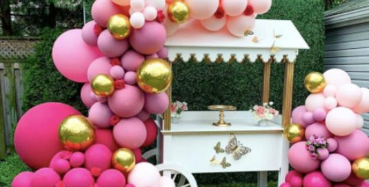 399 pc. set Hot pink|Gold|Light pink|Deep pink