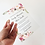 Thumbnail: Floral Watercolor Frosted Acrylic Invitation