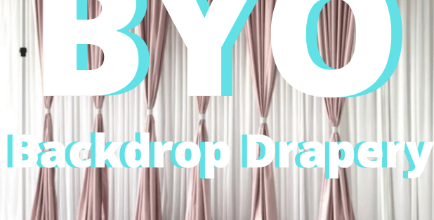 Build Your Own Backdrop Drapery