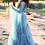 Thumbnail: Deep Teal Boudoir Tulle Robe