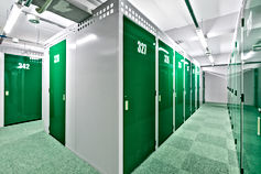 スマイルボックス曙橋|トランクルーム|収納スペース3Fはグリーン