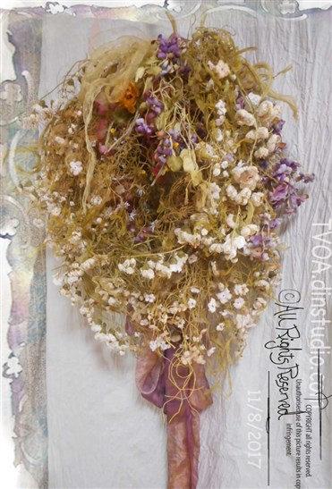 とっておきのスノーフラワーリース<SnowFlower Wreath>
