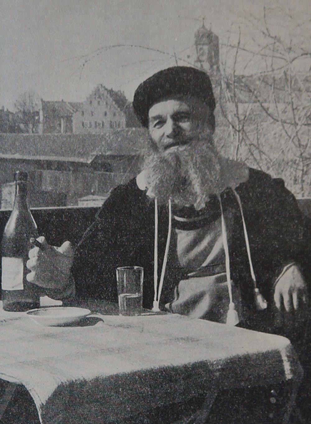 Hotzenvater Gustav Huber