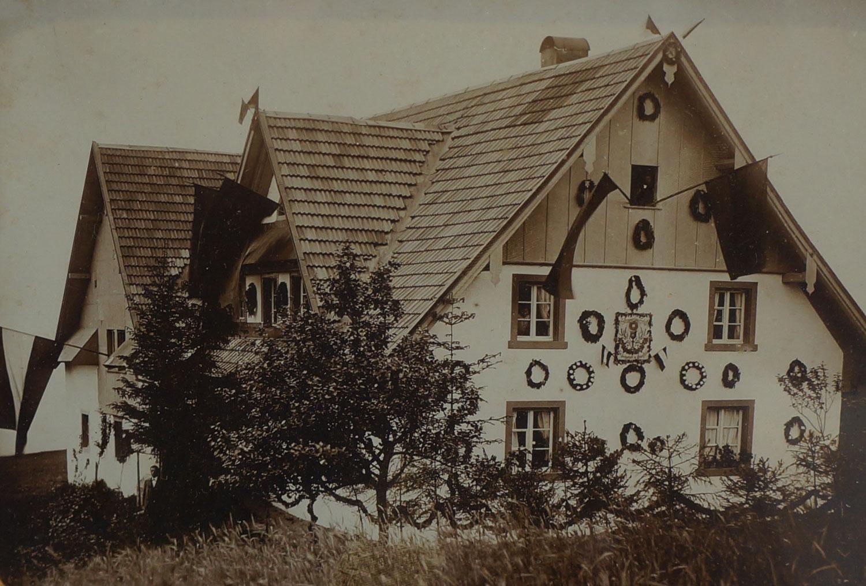 Haus Anno dazumal