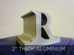 """2"""" Thick Aluminum"""