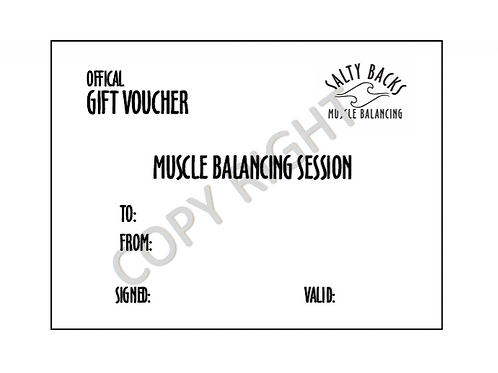 STANDARD SESSION GIFT VOUCHER