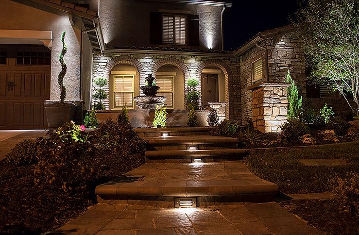 ALLIANCE Outdoor Lighting Step Lights