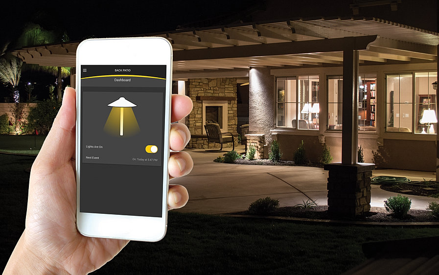 Alliance outdoor lighting usa landscape lighting it bluetooth ready phone app driven intelligent transformer low voltage power supply suitable for indoor or outdoor use mozeypictures
