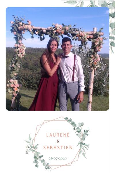 Laurène et sébastien