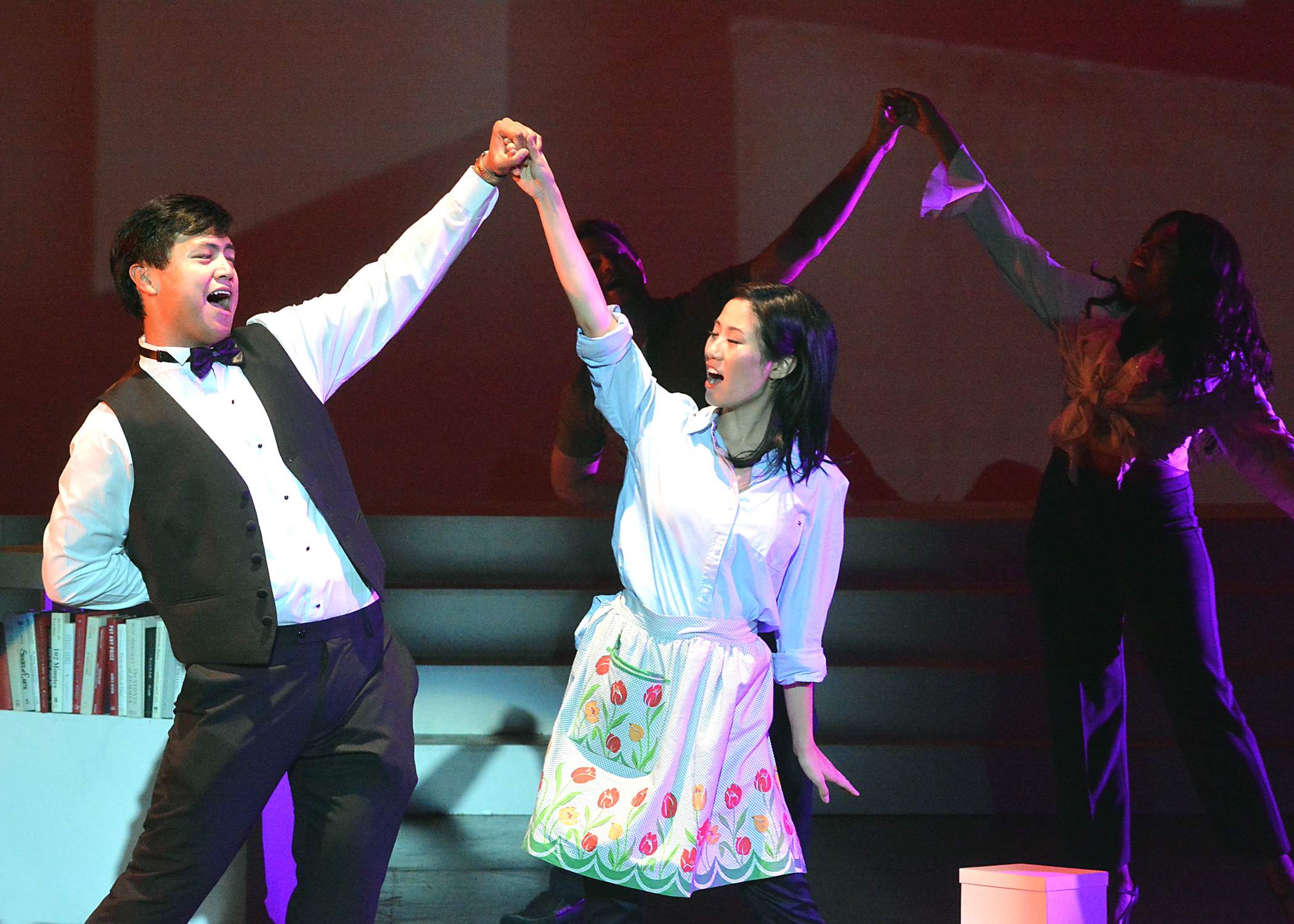 Dancing scene from musical