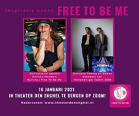 16 januari 2021 - Inspiratie event Free