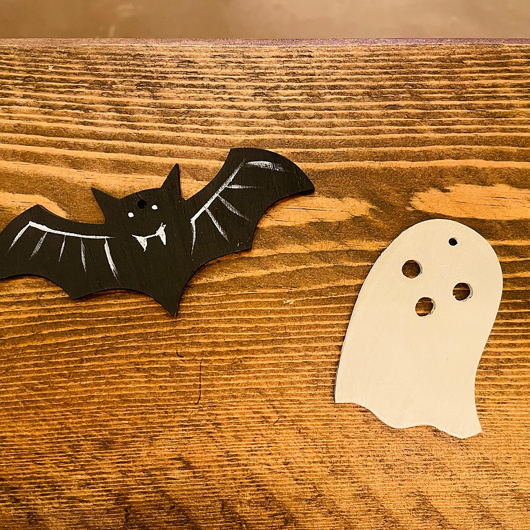 Paint Halloween Decorations (Afternoon)