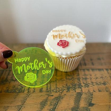 'Happy Mothers Day' Fondant Embosser Stamp