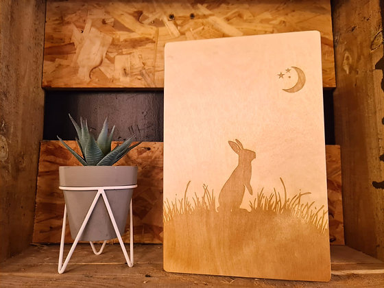 Moongazing Hare Keepsake Box