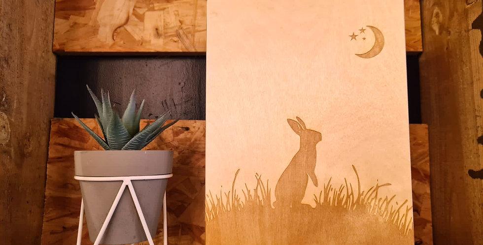 Moongazing Hare Keepsake Box