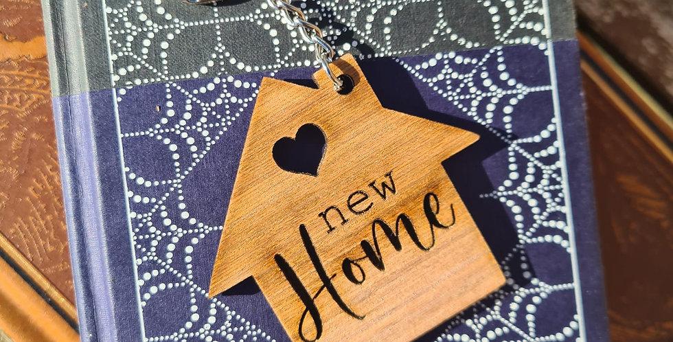 'New Home' Keyring