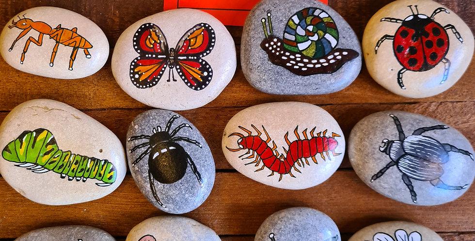 Minibeast Story Stones