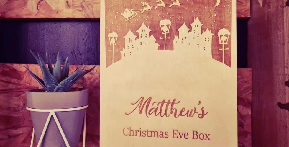 Christmas Village Scene Christmas Eve Box