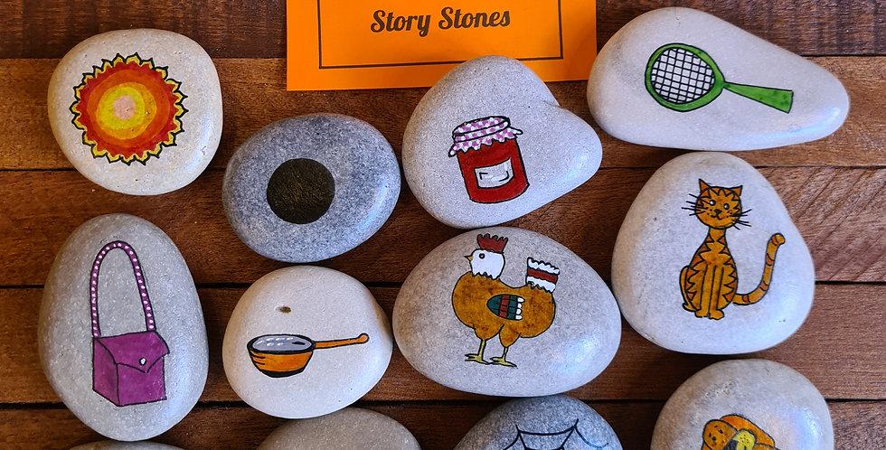 CVC Word Story Stones