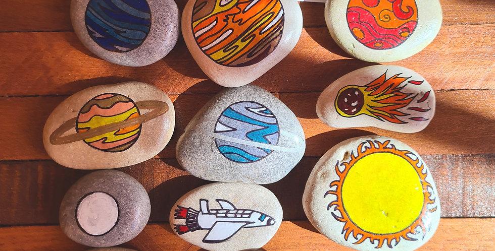 Solar System Story Stones