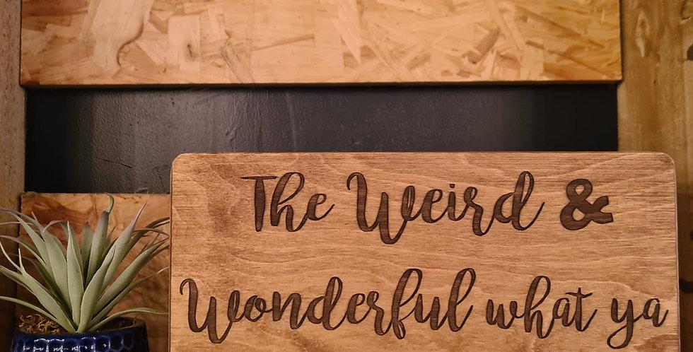 Weird & Wonderful Memory Box