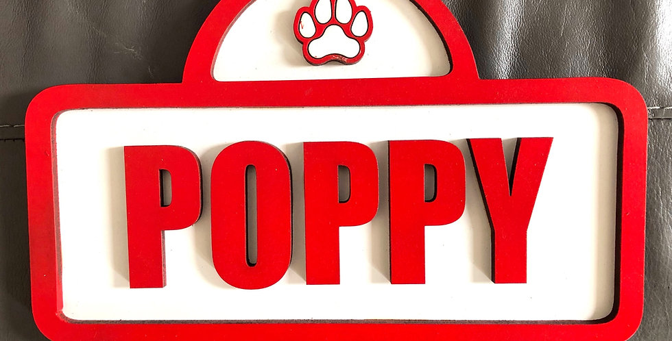 Pet Name Sign
