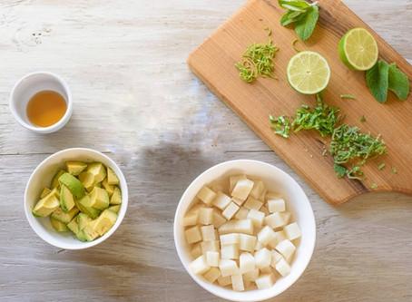 Refreshing Jicama-Avocado Salad