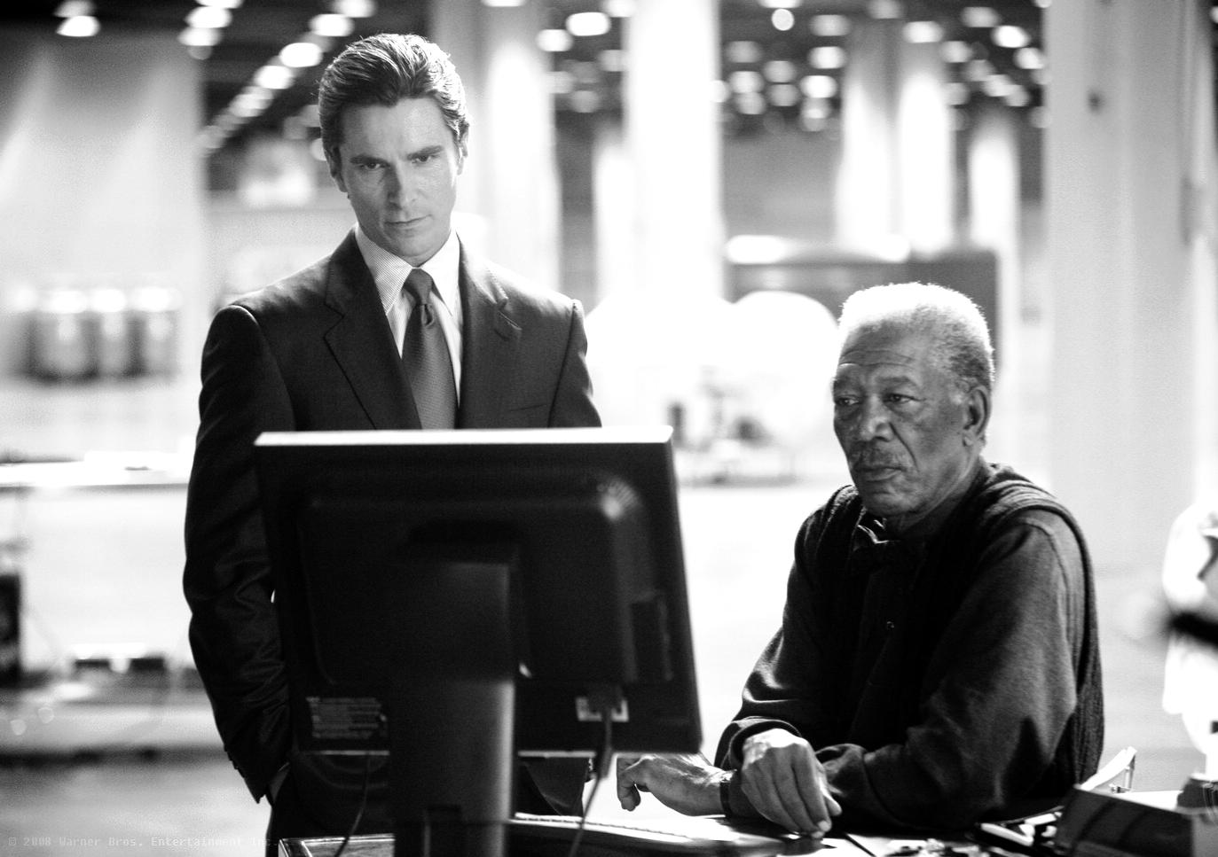 Bruce Wayne & Lucius Fox
