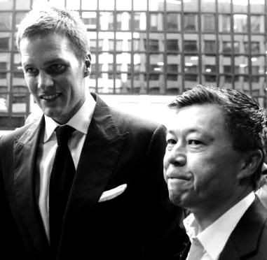 Tom Brady & Donald Yee
