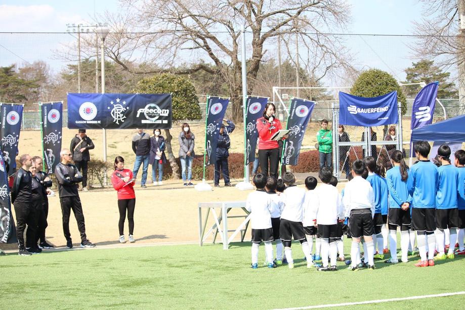 Rangersジュニアサッカーキャンプ、大成功!