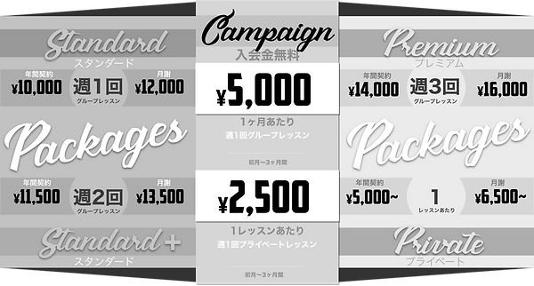 赤坂見附英語レッスンFees