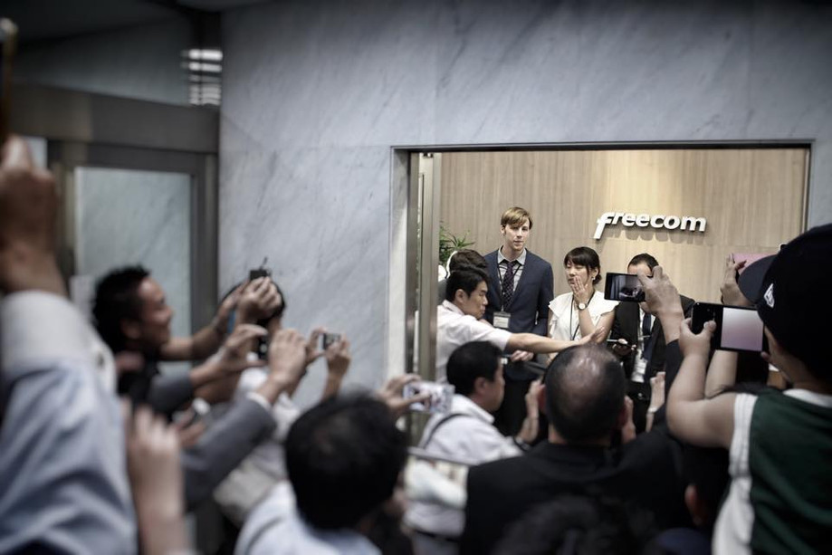【Freecom Tokyo Opening Ceremony and After Party】